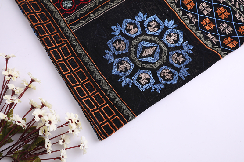 Chiffon Embroidery Fabric For Garment