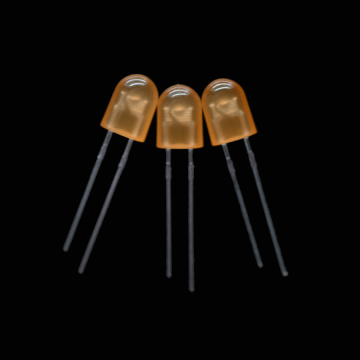 Oval LED 610nm Orange Through-hole LED 5.2*3.8mm