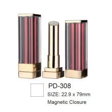 Empty Square Magnetic Lipstick Case