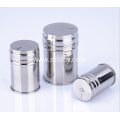 Stainless Steel Seasoning Jar Revolving Cover