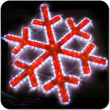 xmas decor christmas led snowflake light decoration