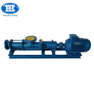 self priming mud sucking single rotary screw pump