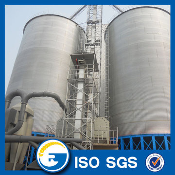 Assembly Hopper Bottom Grain Silo