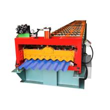 Corrugated roof roll forming sheet machine