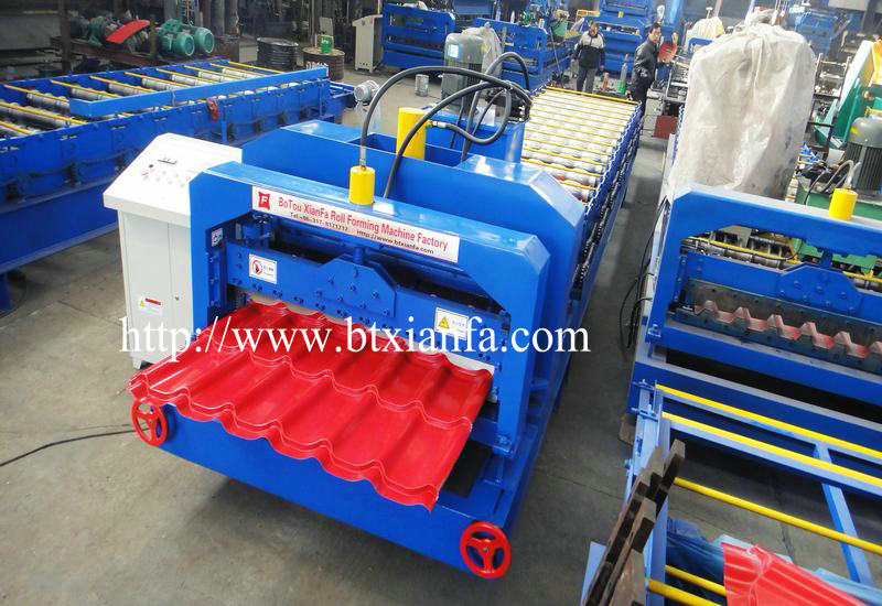 steel roof tile forming machine 3