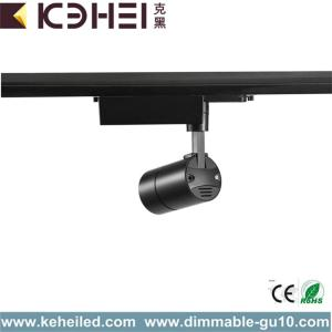Black 12W LED Track Lights 2700K-3000K Dimmable