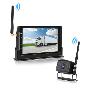 Front and Rear View Backup Camera System Driving Recorder Wireless Dash Camera