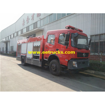 DFAC 4x2 8000L Fire Fighting Trucks