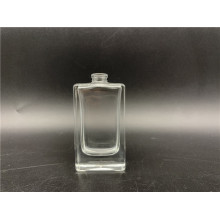 20ml clear square glass bottle for men's spray