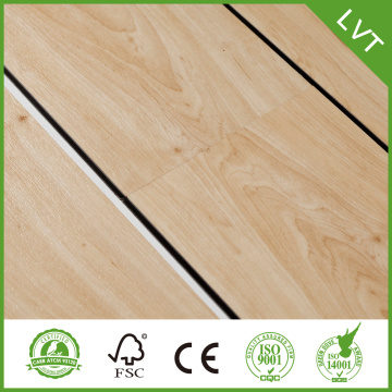 commercial vinyl plank flooring with fiberglass