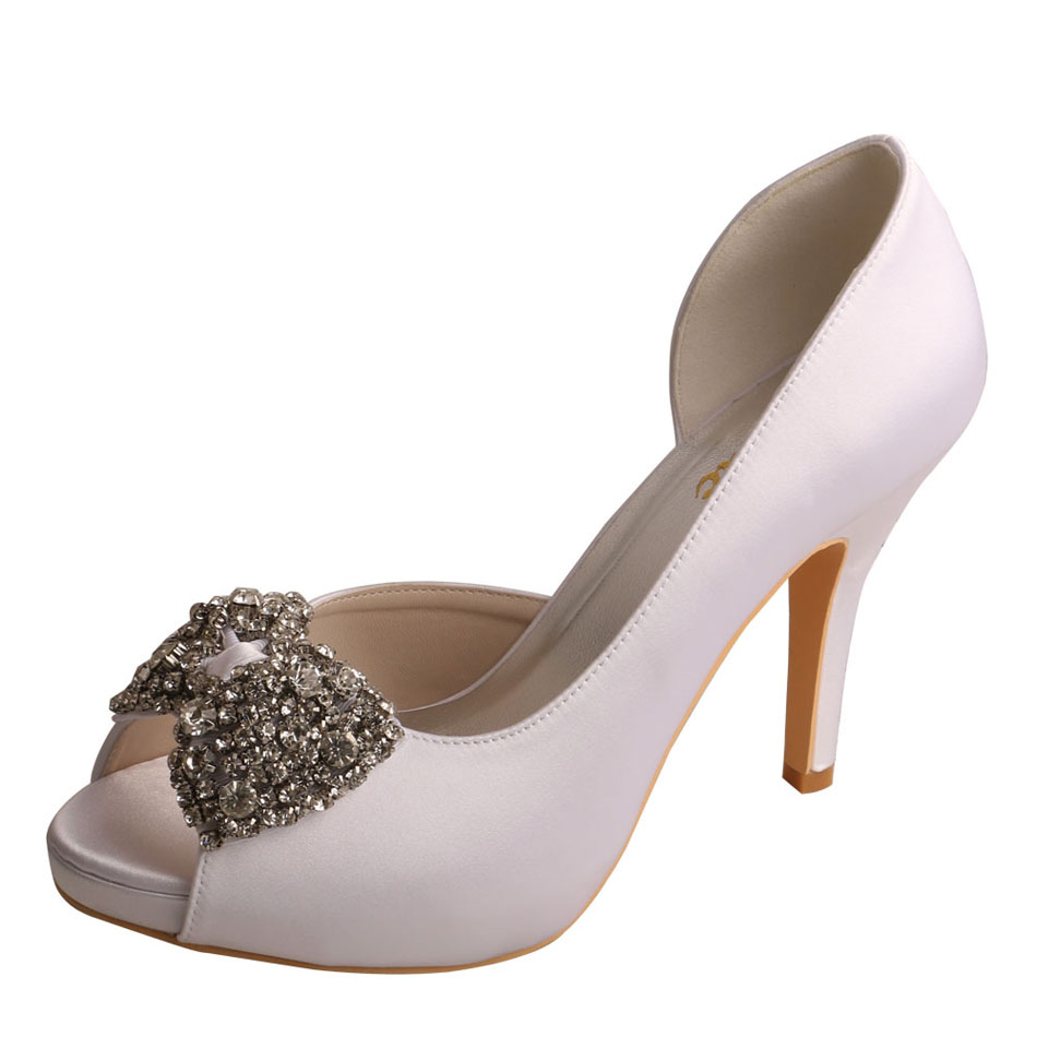 White Bridesmaid Shoes