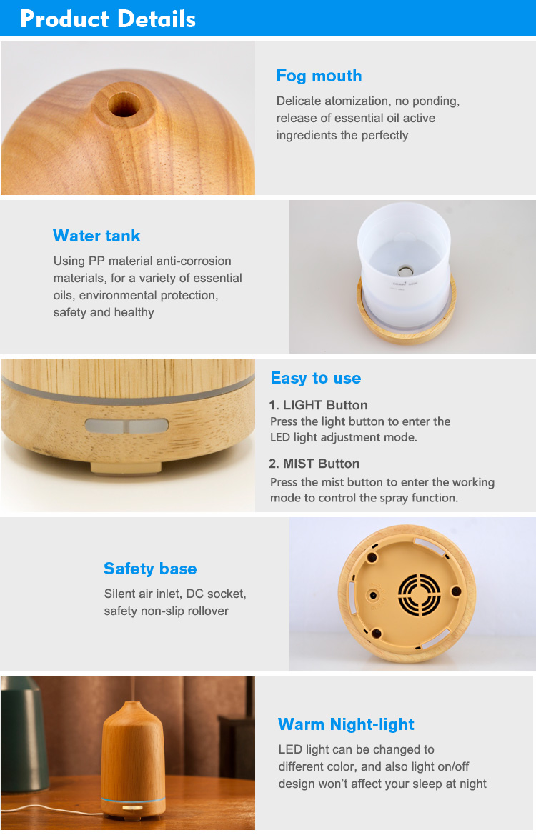 wood fragrance diffuser