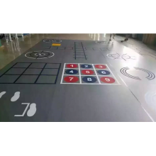 Outdoor Rubber Flooring For Playground