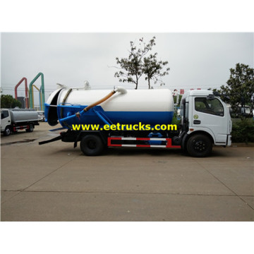 5m3 115HP Excrement Suction Trucks