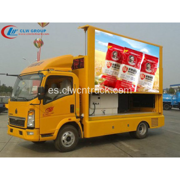 Garantizado 100% SINOTRUCK 6.8㎡ LED Video Truck
