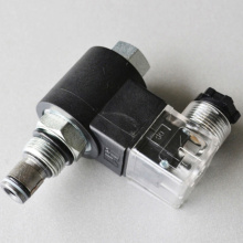 Hydraulic 2/2 Solenoid Cartridge Valve(Normally Open)