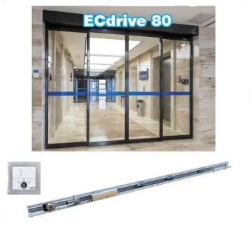 Home commercial geze ecdrive 80 automatic sliding door