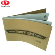 Newly Product Brown Kraft Catalogue Printing in 2018