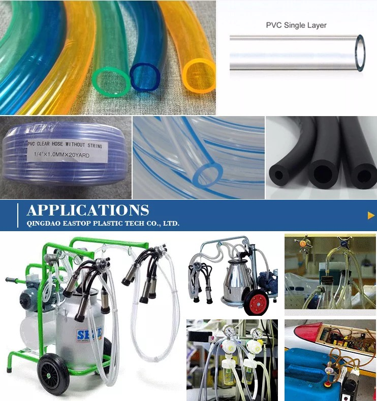 pvc clear hose packing