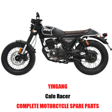 Yingang Cafe Racer Complete Motorcycle Spare Parts Original Spare Parts