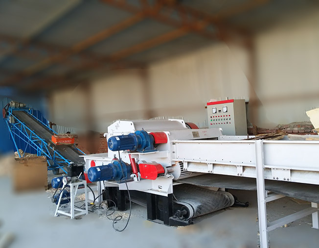 Big Capacity Drum Type Wood Chipper