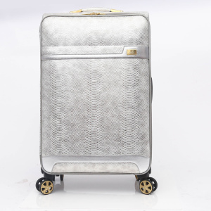 Popular new design vantage elegance pu leather luggage