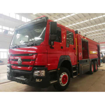 Howo Fire Fighting Truck 20CBM 10 Wheels