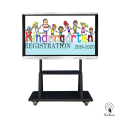 75 Inches All-In-One Multi-touch Screen with mobile stand