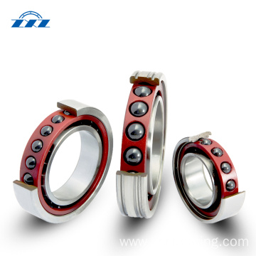 Ultrahigh Speed Angular Contact Ball Bearings