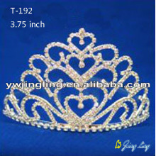 Wholesale Heart Shape Custom Pageant Crowns