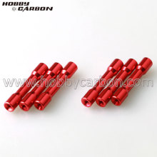 Female Thread Red Round-step Standoffs