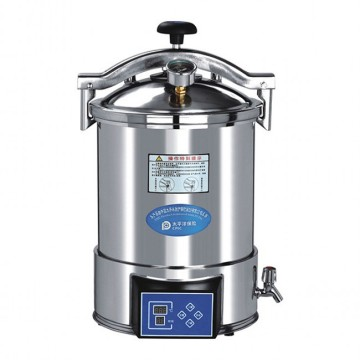 18L portable manual steam sterilizer