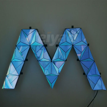 Good creative triangle LED display module