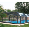 Polycarbonate Swimming Inground Retractable Pool Cover