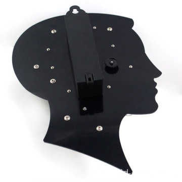 A cool brain shape clock with moving gear