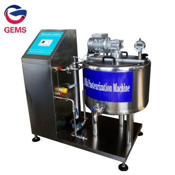 Small Batch Milk Pasteurization Equipment with Homogenizer