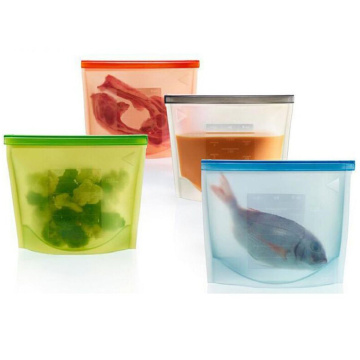 Promotion Silicone storage Kitchen Ziplock Bags