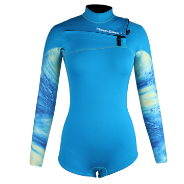 Seaskin 2mm Flexible Women's Surfing Wet Suit