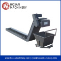 Hinged Steel Belts Metal Scrap Handling Conveyor