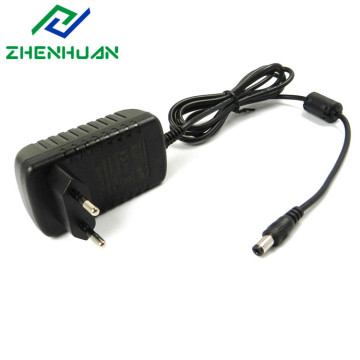 12 Volt 2000ma Euro ac unit plug adapter