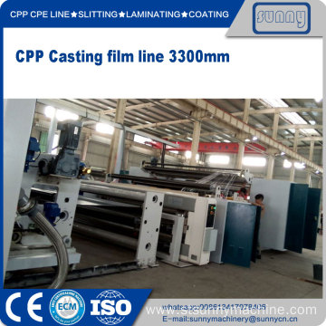 Factory Supplier for CPP Cast Film Line CPP film production line supply to South Korea Manufacturer