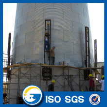 Good Quality for Hot-galvanized Silo Flat Bottom Silo With Sweep Auger Concrete Silo export to Venezuela Wholesale