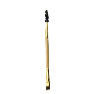 Double-ended eyebrow Mascara makeup brush