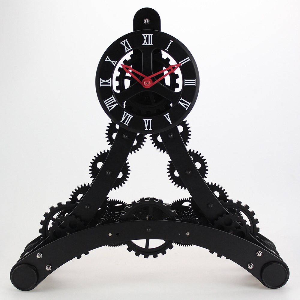 Mini Eiffel Tower Gear Clock