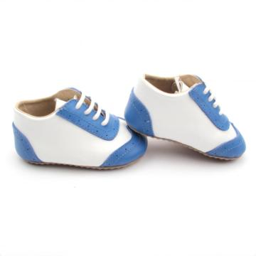 Lovely Navy Blue Kids Oxford Shoes
