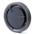 12 inch High End Wall clock with Fabric