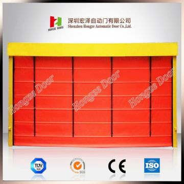 Industrial High Speed Windproof PVC Folding Up Door
