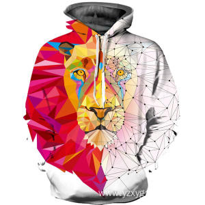 New Arrival China for Dtg Digital Printing Festivals Clothings Magical lion drawstring hoodie export to Burundi Factories