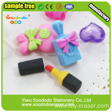 Promotional Green Pig Head Shaped Gift  Eraser