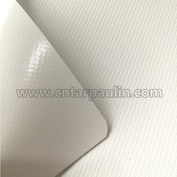 450g poly tarpaulin sheet white pvc tent fabric